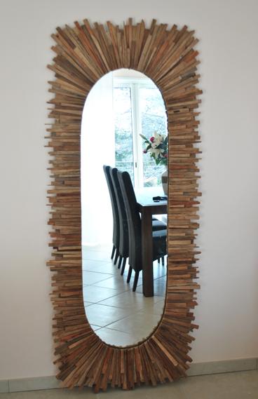 Miroir teck Boudoir du monde