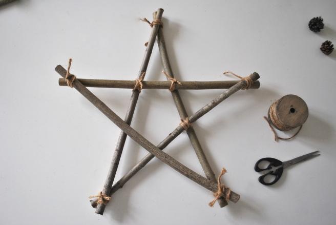 faire une étoile de noel en bois