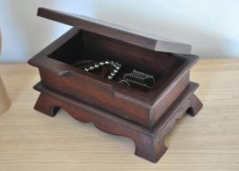 boite à bijoux en bois