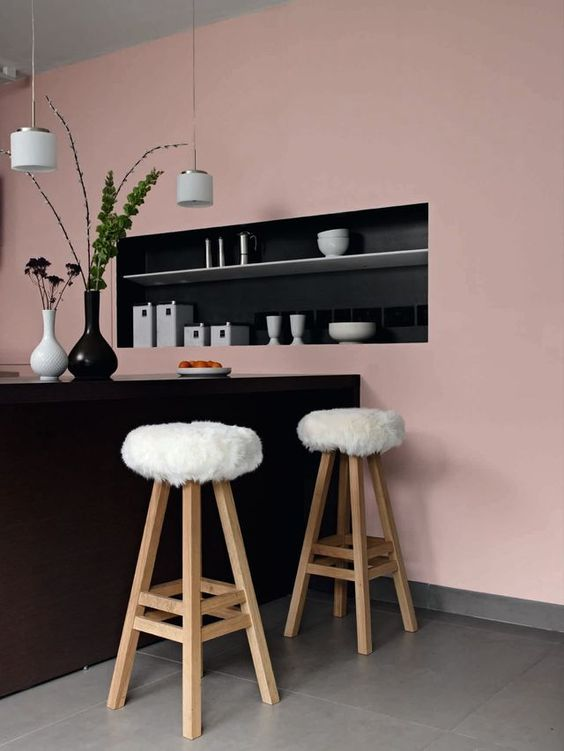 tendance d co le vieux rose le carnet du boudoir du monde. Black Bedroom Furniture Sets. Home Design Ideas